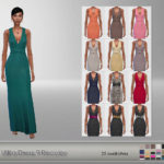 UliKa Dress 9 Recolor It's a recolor of @kumvip… – E L F D O R