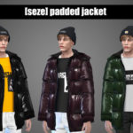 seze — [seze]padded jacket download