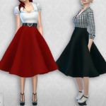 Colores Urbanos' Vintage Basic skirt 2 (original mesh)