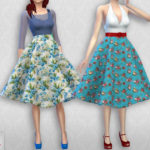 Colores Urbanos' Vintage Basic skirt 2 RECOLOR 1 (Needs mesh)