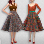 Colores Urbanos' Vintage Basic skirt 2 RECOLOR 3 (Needs mesh)