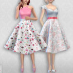 Colores Urbanos' Vintage Basic skirt 2 RECOLOR 4 (Needs mesh)