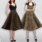 Colores Urbanos' Vintage Basic skirt 2 RECOLOR 5 (Needs mesh)