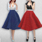 Colores Urbanos' Vintage Basic skirt 2 RECOLOR 6 (Needs mesh)