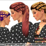 MahoCreations' WingsSims OS0814 Hair Recolor – Mesh needed