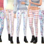 Wicked_Kittie's Tumblr Themed Leggings Pack Eight
