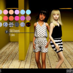 simtographies' Child Rompers