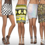 DarkNighTt's SET 19 – Printed Skirts Set
