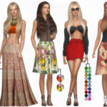 DarkNighTt's SET 20 – Designer Skirt Set