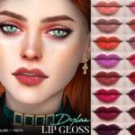 Pralinesims' Dylan Lip Gloss N146