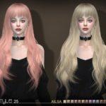 S-Club's sclub ts4 hair Ailsa n25