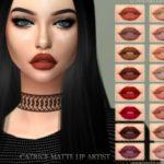 ANGISSI's Lipstick – Catrice Matte Lip artist