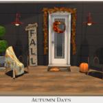 ~ Chicklet's Nest ~: Autumn Days Decor Set