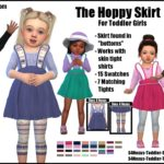 The Hoppy Skirt -Original Content- | Sims 4 Nexus
