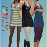 [Standard Hero] • Summer Dress Infos + download under the cut // For …