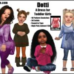 sims4nexus Dotti -A Dress for Toddler Girls-