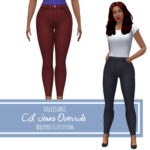 leeleesims1 City Living Jeans Override – Requires City Living