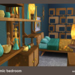 My Space | ***Atomic Bedroom*** Sims 4 4 color variations…