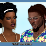 I wanted some natural edges for my sims and I took… – Playing Sims 4