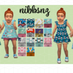 NIBBSNZ – Plumbobteasociety Dress and Bloomers (mesh by…