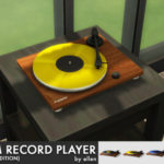 Slim Record Player / Turntable (Wood edition)…