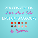 Sims, spice and everything nice | My first attempt to convert a lipstick from ts2. I…