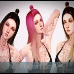 melly20x's Retexture Nightcrawler Luna Hair (MESH REQUIRED)