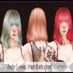 melly20x's Retexture Anto -Sirens Hair – Mesh needed