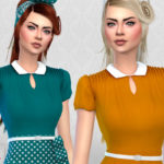 Colores Urbanos' The Vanora Blouse RECOLOR 3 (Needs mesh)