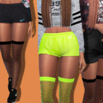 Pinkzombiecupcakes' Sporty Fishnet Tights