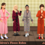 strenee sims: Family Robes: 30 for the Kids