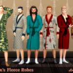 strenee sims: Family Robes: 30 for the Men