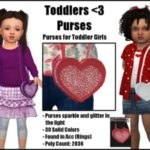 Toddlers <3 Purses -Purses for Toddler Girls-