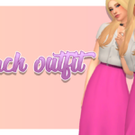 Peach Outfit Inspired by a Princess Peach outfit I… : Dear Solar