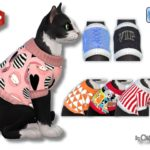 Pullover für Katzen – Oldbox´s Sims 4 Tierhandlung – All4Sims.de