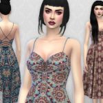 Colores Urbanos' Claudia dress RECOLOR 5 (Needs mesh)
