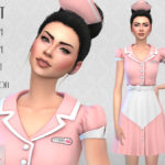 Colores Urbanos' Waitress SET (original mesh)