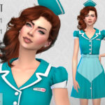 Colores Urbanos' Waitress SET RECOLOR 1 (Needs mesh)