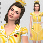 Colores Urbanos' Waitress SET RECOLOR 3 (Needs mesh)