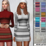 EsyraM's Roll Neck_Dress