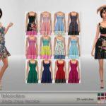 Elfdor's Belaloallure Stella Dress Recolor