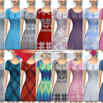 Jennisims: Downloads sims 4:Base Game compatible Dress