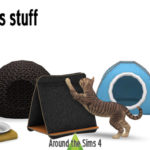Around the Sims 4 | Custom Content Download | Maru the cat's stuff