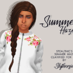 Slythersim Stealthic's Summer Haze Clayified for TS4.