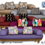 Oldbox Home — Loft Sofa, Basegame, convert. S2/S4 by Freeasabird…