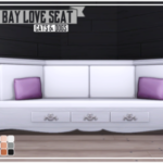 The Wide Bay Love Seat