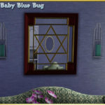 babybluebug's bbb Star of David Mirror