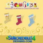 SIMcredible!'s Build up your Christmas tree – sock