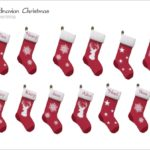Severinka_'s [Scandinavian Christmas] Christmas socks