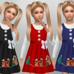 SweetDreamsZzzzz's Girls Christmas Dress